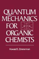 Quantum Mechanics For Organic Chemists PDF