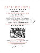 Biblotheca ritualis