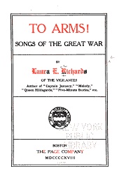 To Arms!: Songs of the Great War
