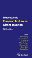 Introduction to European Tax Law on Direct Taxation PDF