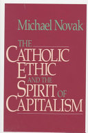 The Catholic Ethic And The Spirit Of Capitalism Book PDF