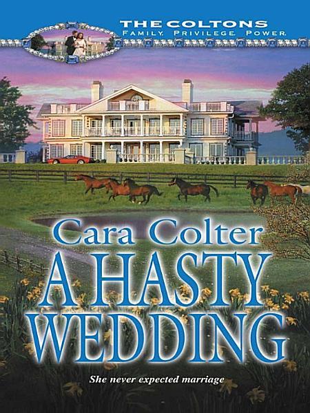 A Hasty Wedding