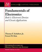 Fundamentals of Electronics  Book 1 PDF