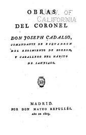 Obras del coronel don Joseph Cadalso: Los eruditos a la violeta