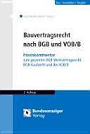 Bauvertragsrecht nach BGB und VOB B PDF