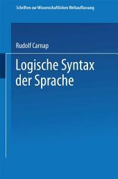 Logische Syntax der Sprache