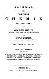 Journal für praktische Chemie: Band 67
