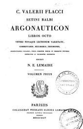 C. Valerii Flacci Setini Balbi Argonauticon: libros octo