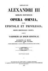 Opera omnia, id est epistolae et privilegia