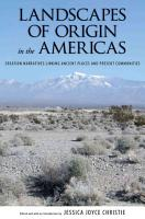 Landscapes of Origin in the Americas PDF