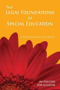 The Legal Foundations of Special Education Book