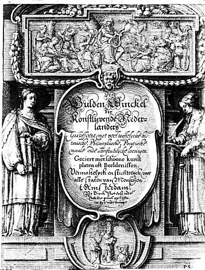 Den gulden winckel der konstlievende Nederlanders  gestoffeerd met veel treffelijcke historische  philosophische  poetische  morale ende schriftuerlijcke leeringen PDF
