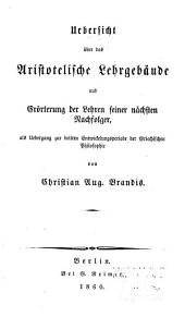Handbuch der Geschichte der griechisch-römischen Philosophie: Band 3,Teil 1