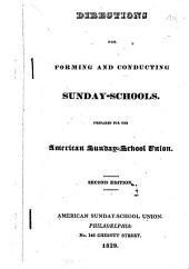 Directions for Forming and Conducting Sunday-schools