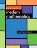 Excursions in Modern Mathematics Book