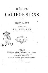 Recits californiens par Bret Harte