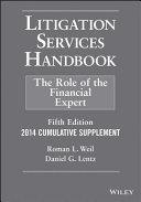 Litigation Services Handbook  2014 Cumulative Supplement PDF