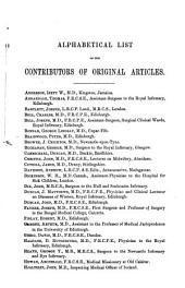 Edinburgh Medical Journal: Volumes 10-11