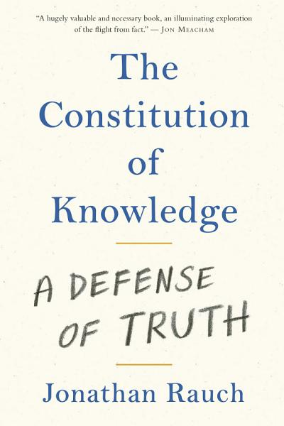 Download The Constitution of Knowledge Book