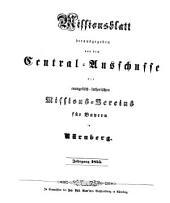 Missionsblatt: 1855