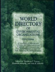 World Directory of Environmental Organizations PDF