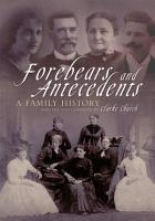 Forebears and Antecedents PDF
