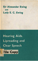 Hearing Aids  Lipreading  and Clear Speech PDF