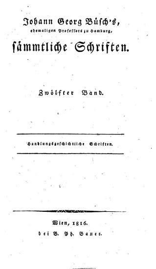 Johann Georg B  sch s     s  mtliche Schriften PDF