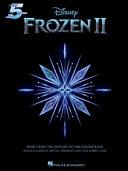 Frozen II Five-Finger Piano Songbook