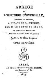 Histoire du Bas Empire: Volume7