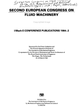 Second European Congress on Fluid Machinery for the Oil  Petrochemical and Related Industries PDF