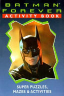 Batman Forever Activity Book PDF