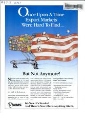 Once Upon a Time Export Markets Were Hard to Find     PDF