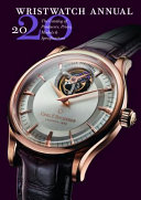 Wristwatch Annual 2020  The Catalog of Producers  Prices  Models  and Specifications