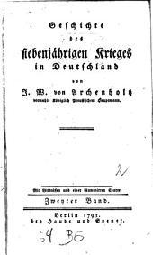 Geschichte des siebenjährigen Krieges in Deutschland: 2