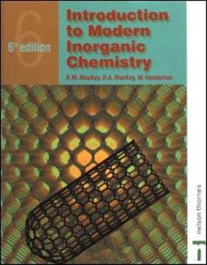 Introduction to Modern Inorganic Chemistry  6th edition PDF