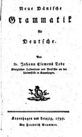 Neue Dänische Grammatik für Deutsche