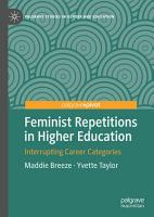 Feminist Repetitions in Higher Education PDF