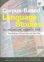 Corpus based Language Studies PDF