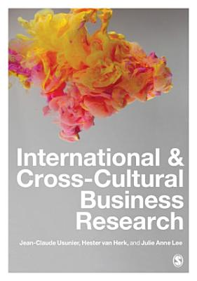 International and Cross Cultural Business Research