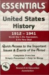 United States History: 1912 to 1941 Essentials