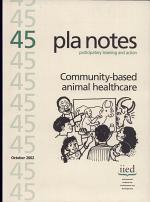 PLA Notes 45: Community-based Animal Healthcare