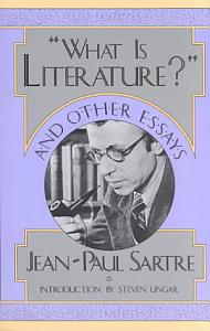 What is Literature   and Other Essays Book