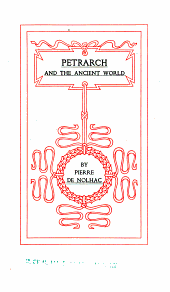 Petrarch and the Ancient World: Volume 2