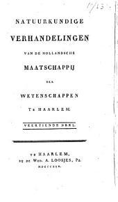 Natuurkundige verhandelingen van de Hollandsche Maatschappij der Wetenschappen te Haarlem: Volume 8