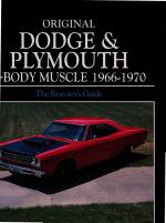 Original Dodge and Plymouth B-Body Muscle 1966-1970