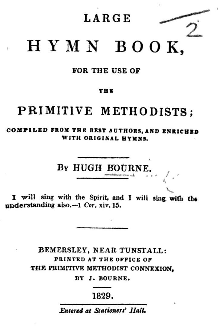 Large Hymn Book, for the use of the Primitive Methodists