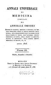 Annali di medicina straniera, compilati da A(nnibale) Omodei: Volume 44