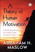 A Theory of Human Motivation PDF