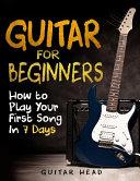 Guitar for Beginners PDF
